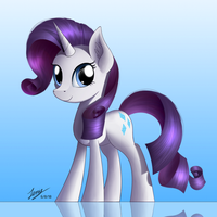 Rarity (Commission) by Duskie-06