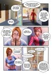 Kate E Carol Meet Carol (PAGE 1) - commission by CristianoReina