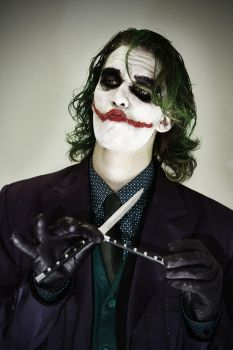 Let's Play A Game - The Joker - Batman cosplay by Carancerth