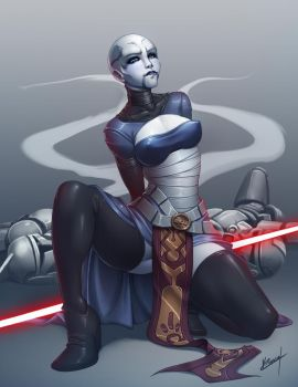 Asajj Ventress by Karosu-Maker
