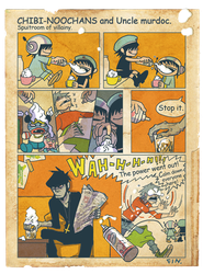 CHIBI-NOOCHANS and Uncle murdoc. comic4 by rumrock