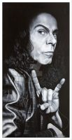 Ronnie James Dio by CHAOSART666