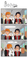 Harry Potter Humor - The boy with glasses by MissCake