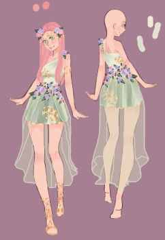 Quietus design Sakura:dress 3 by SasusakuRose