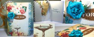 Card: For You (Card and Bookmark Combo) by kendravixie