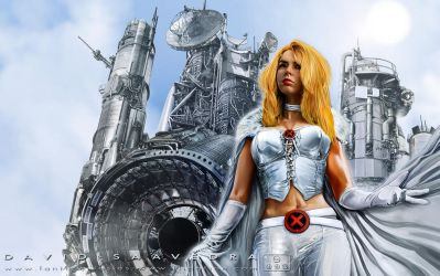 Emma Frost. Utopia. Full HD edition. by flipation