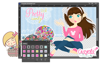 Doll PrettyCandy psd by imabelopez