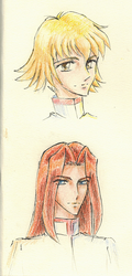 Random sketches by Utena-Lina