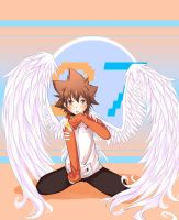 Angel Tsuna o3o by IntoTheFrisson