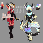 Stardragon Bellini + Sypher ADOPT AUCTION (closed) by CuttleSkulls