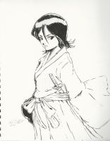 Sketchbook-Rukia by Mark-Clark-II
