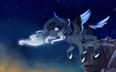 Taking the night flight by C-Puff