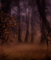 In the mist IV premade BG by StarsColdNight