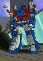 Whelljeck's Ultra Magnus col by Clu-art
