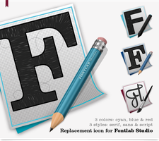 FontLab Studio Icons OS X by Daoud1