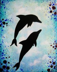 Dolphins-8x10 by LeahGarcia