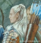 Strongbow and Dragonhelm -fragment by EKukanova