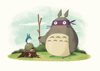 Totoro Power by TheBeastIsBack