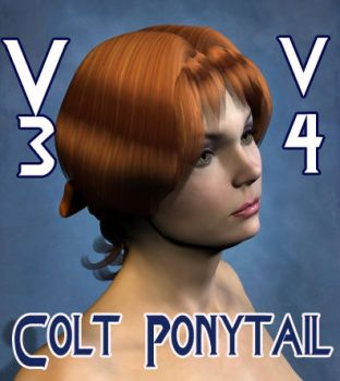 Yeoman Colt Hair for V3 V4 by mylochka
