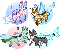 Foxpond Guest Auction (CLOSED) by floramisa