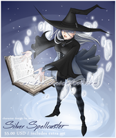Adopt - Silver Spellcaster (SOLD) by Beedalee-Art