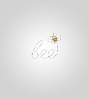 Bee logo by FatimahART