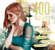 400 Watchers Pack by sweetpoisonresources