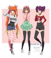 Rival Outfits #1 by ku-ini