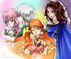 FF XIII-2: They are now by Rinoa-Light-Leonhart