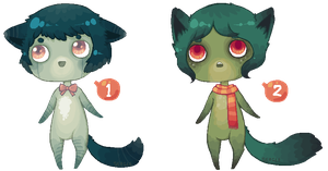 Pixel Anthros 1 - [CLOSED!] by Sergle