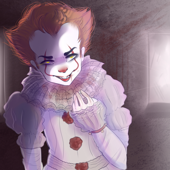 say hi to Pennywise by Adishu