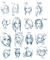 faces by MissusHow