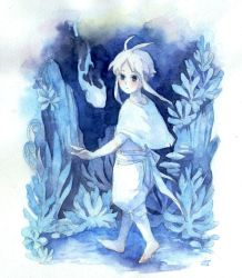 Ori and the Blind Forest -Ori gijinka by Mitsuyuki32