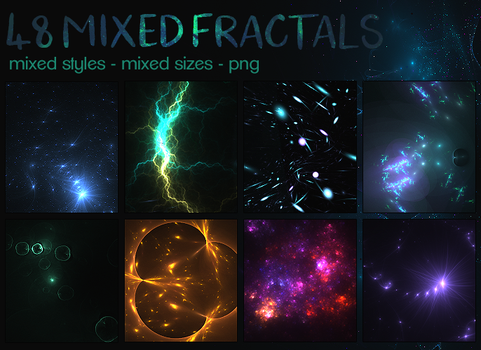 Resources: Mixed Fractals by LaCorpse