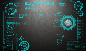 MediaTek Rainmeter by mferrari82