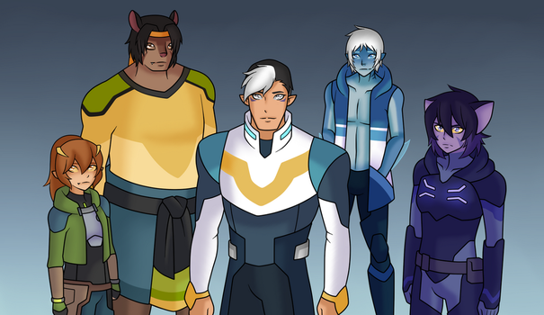 Voltron Paladins AU (Updated) by Mutant-Girl013