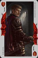 Game of Thrones card: Jaime Lannister by Blu-Oltremare