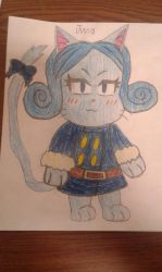 Juvia exceed by MEGARAINBOWDASH2000