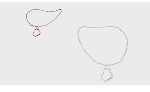 MMD Heart Necklace by amiamy111