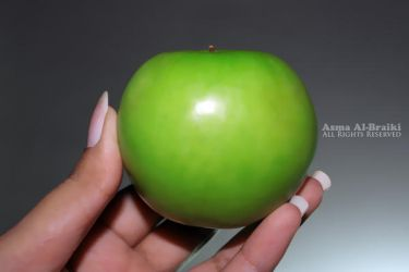 Green Apple: 2 by S-o-m-a