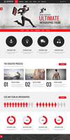 Infographic WordPress Theme by sandracz