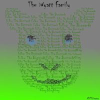 Wyatt Family Typography by NXTPrincess