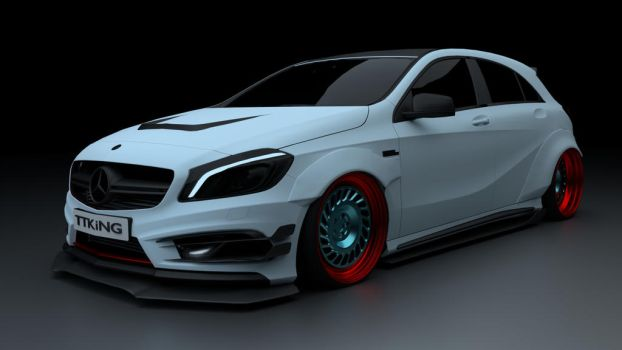 Mercedes-Benz A45 AMG TTKiNG by TTKiNG13
