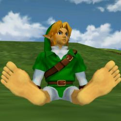 Link's Big Hero Feet 03 by BigJayRock