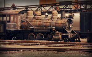 antiqued engine1 by wroquephotography