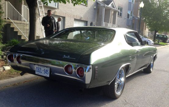 1972 Chevelle SS, part 2 by Ripplin