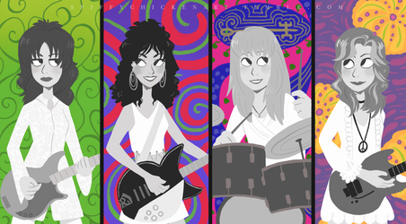 The Bangles by spiffychicken