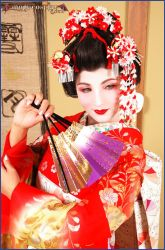 Maiko in Gion by MoguCosplay