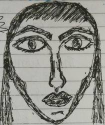 A Face on a Page by JayB8