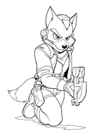 Fox McCloud is Back by CirrusKitfox